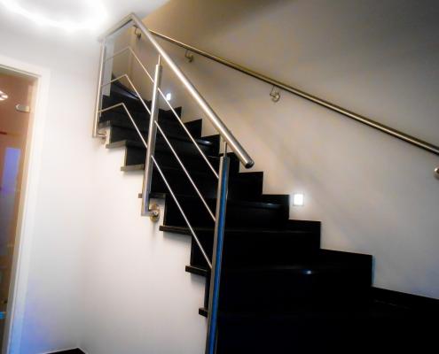 Treppengeländer edelstahl innen