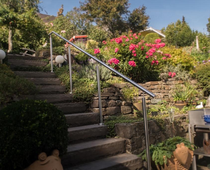 Handlauf Garten