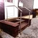 Edelstahl handlauf Treppe außen