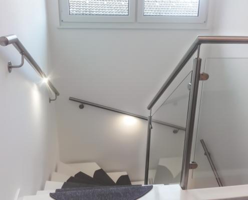 Treppengeländer und Handlauf