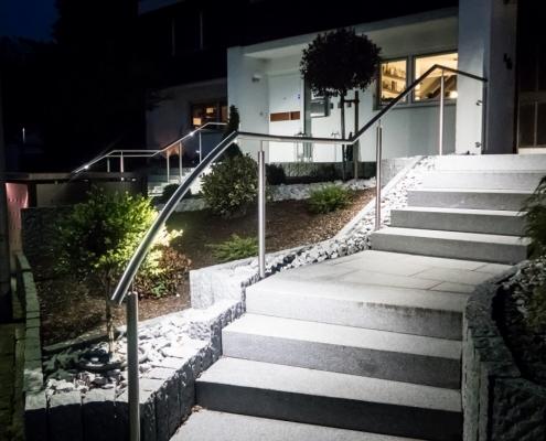 LED Handlauf beleuchtet
