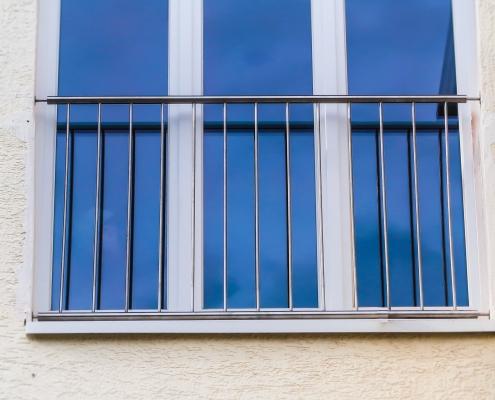 Hervorragend Französischer Balkon aus Edelstahl - Absturzsicherung - JPS JD71