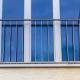 französischer Balkon Edelstahl