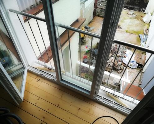 französischer balkon montieren